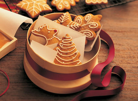 Gingerbread Butter Cookies Recipe