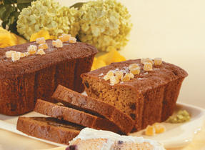 Gingerbread Date Loaves