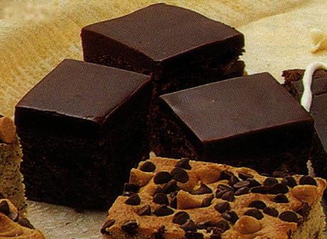 Glazed Chocolate Brownies  Recipe