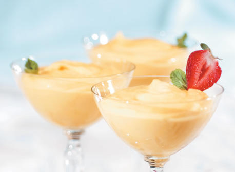 Glorious Mango Pudding Recipe
