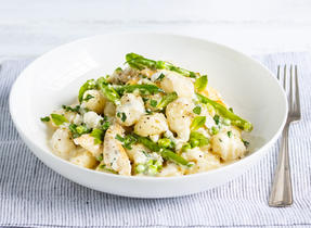 Gnocchi with Chicken, Green Beans and Feta