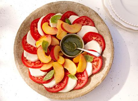 Golden Caprese Salad Recipe
