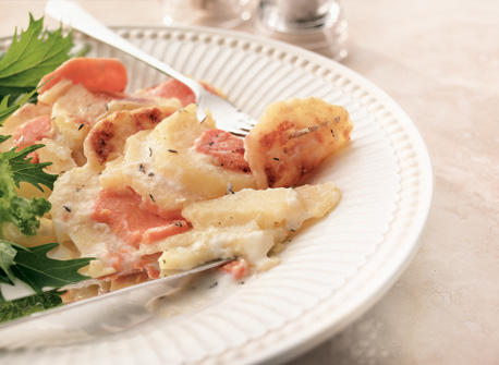 Golden Scalloped Potatoes Recipe