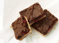 Gooey Chocolate Cranberry Squares recipe