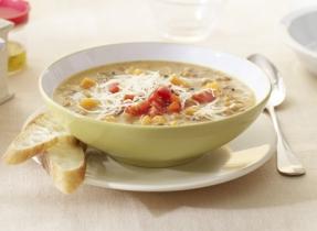 Gouda & Lentil Soup