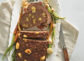 Gouda meatloaf