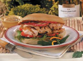 Gourmet Grilled Salmon Salad Sandwich