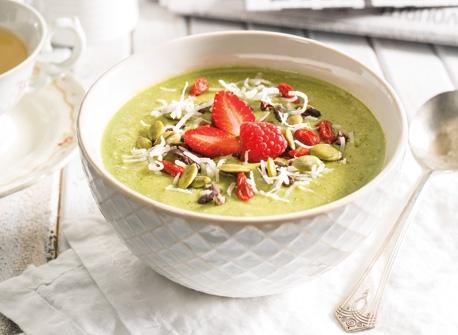 Green Goodness Smoothie Bowl Recipe
