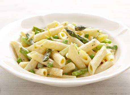 Greens and Cream Cheese penne Recipe