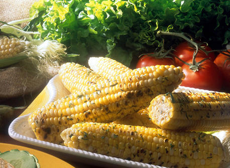 Grilled Corn on the Cob with Tarragon Butter Recipe