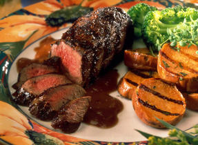 Grilled Maple Bison Tenderloin
