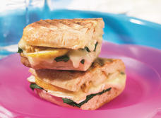 Grilled Melted Brie Sandwich recipe