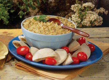 Grilled Onion & Artichoke Dip Recipe
