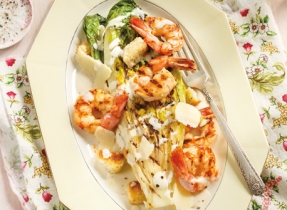 Grilled Shrimp Caesar