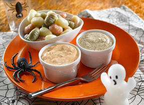 Grubs with Ghoulish Goo
