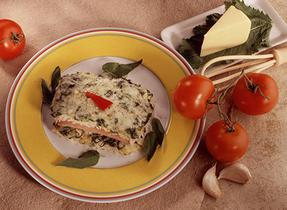 Ham and Rice Florentine