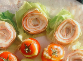 Ham Roll-Up Crepes