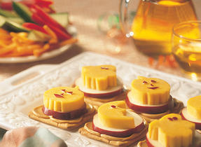 Happy Cheddar Cheese Treats
