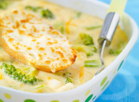 Harvest Cheddar and Vegetable Chowder