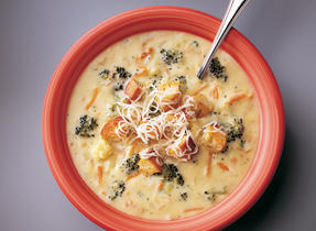 Harvest Gouda and Vegetable Chowder