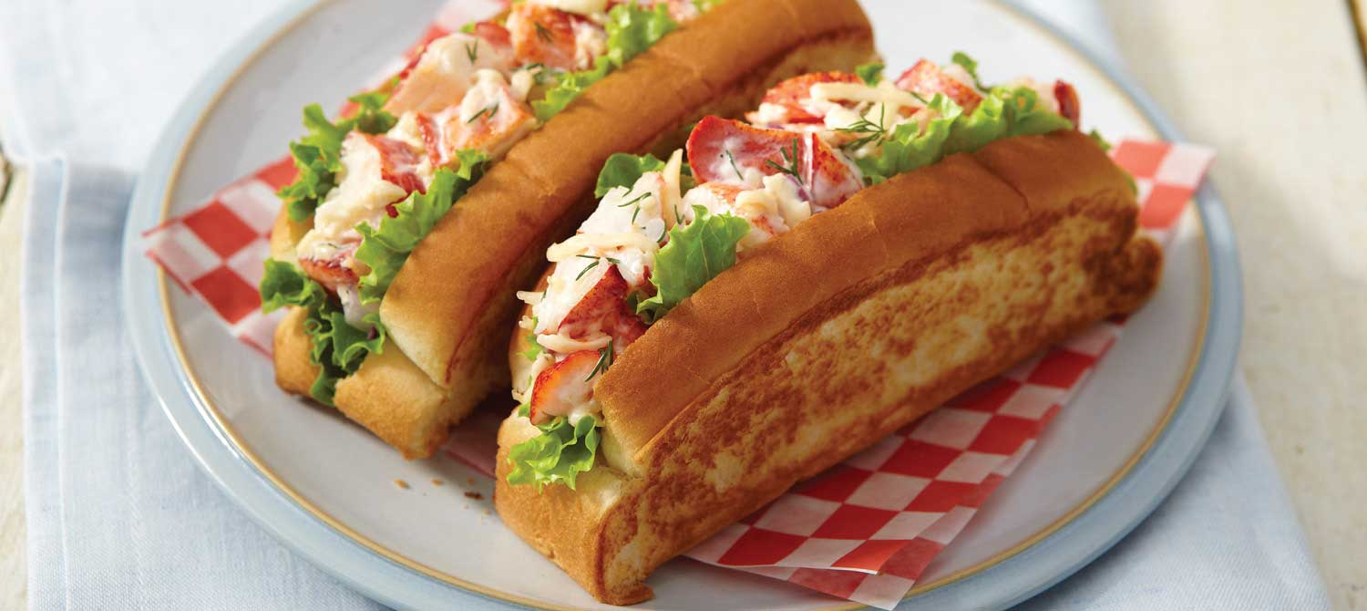 Havarti lobster salad in a bun recipe | Dairy Goodness