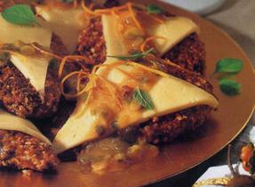 Hazelnut Crusted Chicken & Havarti à l'Orange