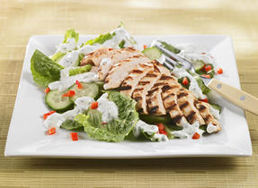 Herb-Marinated Grilled Chicken Salad