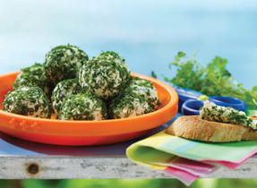 Herbed cheese balls