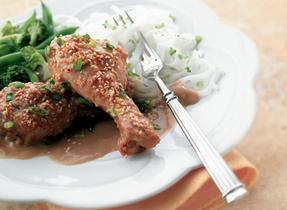 Honey Garlic Roasted Chicken
