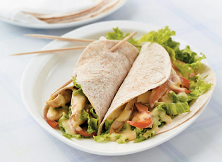 Honey Mustard Chicken Wraps Recipe