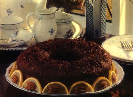 Honey Pecan Coffee Cake Recipe