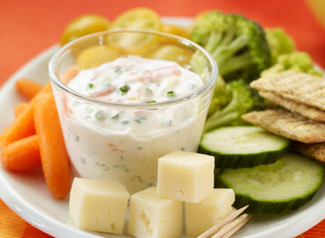 Honey Yogurt Dip Recipe