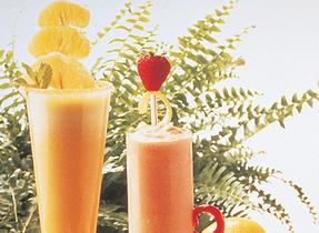 Honeyed Fruity Milk Shake