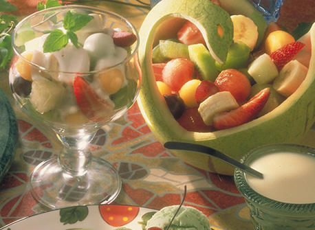 Honeyed Yogourt Fruit Salad Recipe