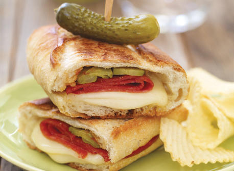 Hungarian Grilled Cheese Recipe