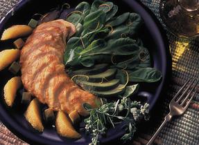 Indian Chicken and Avocado Salad