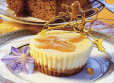 Individual Butter Tart Cheesecakes