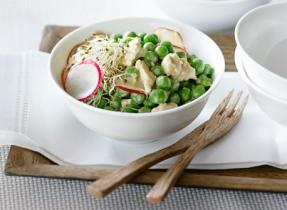 Japanese-Style Pea Salad