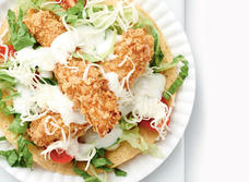 Kid-Friendly Fish Tostadas