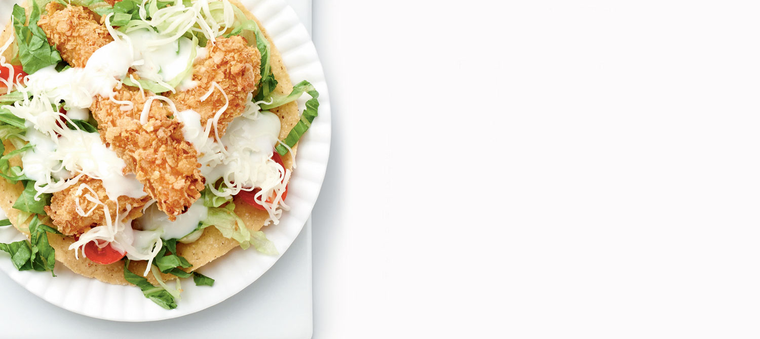 kid friendly fish tostadas recipe dairy goodness