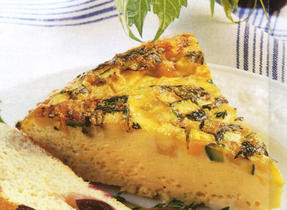 Lemon and Thyme Casserole Omelet