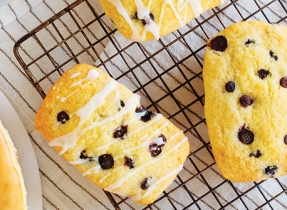 Lemon Blueberry Mini Loaves