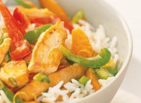 Lemon Chicken Vegetables Stir-Fry