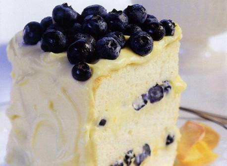 Lemon Feather Tall Cake Recipe