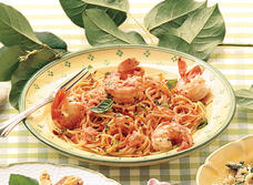 Linguine with Shrimp and Creamy Tomato Sauce