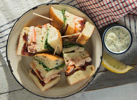 Lobster club with Mozzarella Recipe