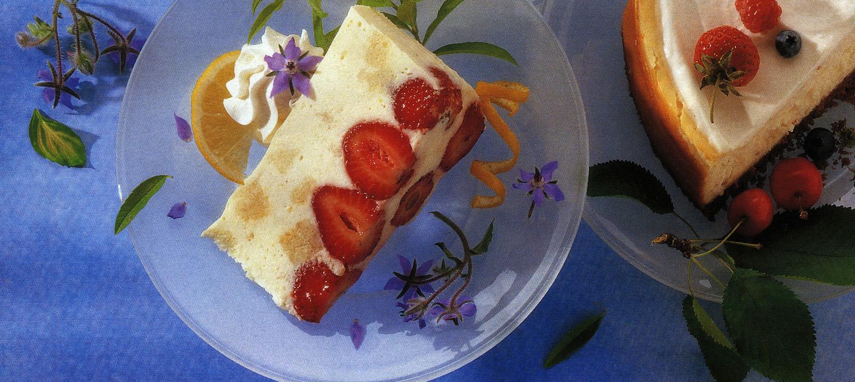 Luscious Lemon Mousse Cake recipe | Dairy Goodness