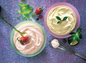 Luscious Whipped Creams