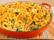 Mac & Cheese with Broccoli