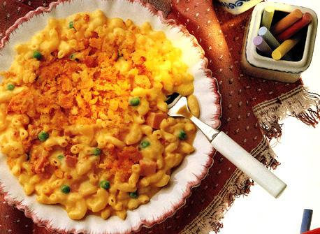 Macaroni Casserole with Double Cheese Recipe